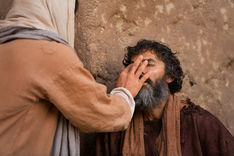 miracles of jesus healing blind man 1138534 wallpaper